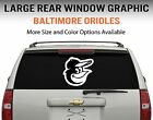 Baltimore Orioles Window Decal Graphic Sticker Car Truck SUV - Choose Size on Ebay