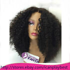 "SOFT Kinky Curly 100% Brazilian Remy Human Hair Lace Front Wigs 14""-22"""