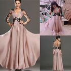 Fashion Chiffon Evening Party Lace Prom Gown Formal Bridesmaid Cocktail Dresses