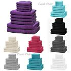 Luxury Egyptian Cotton 550 GSM Super Soft 6 pcs Towel Bale, Face, Hand, Bath Set