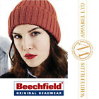 Beechfield UNISEX Chunky Ribbed Beanie BB465 - 6 colours one size