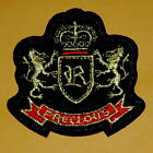 Precious Crown Lion Iron On Sew Patch Embroidery Applique Badge Prince