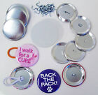 "Button Boy 2-1/4"" Complete Pony Tail & Shoe Lace Button Parts 2.25"" Ponytail"
