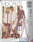 McCall's 7970 Misses' and Men's Nightshirt, Top, Rboe, Pull-On Pants and Shorts