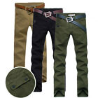 New Fashion Men's Slim Fit Casual  Skinny Pencil Trousers Jeans Pants