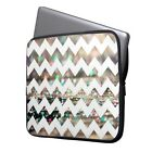 "Zigzag Laptop Ultrabook Sleeve Case Bag For 11-15.6"" MacBook Pro Air Acer HP"