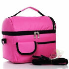 New Men women Two Compartment Picnic lunch bento box bag thermos cooler Ice Bags