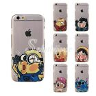 Etui Housse Coque Transparente Perso Cartoon TPU Iphone 5/5S, 6/6 plus  Mignonne