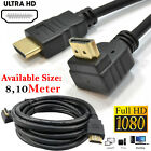 Right Angled HDMI V1.3 HD TV 1080p Video Cable Lead 0.5M 1M 1.5M 2M 3M 4M 5M 10M