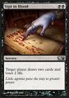 4x Firmare col Sangue - Sign in Blood MTG MAGIC 2011 M11 Eng/Ita