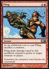 FOIL Scagliare - Fling MTG MAGIC 2011 M11 Eng/Ita