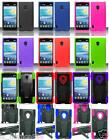 Phone Cover T-STAND / SILICONE Case For LG Lucid 2 VS870 / Optimus F5 AS870