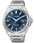 Citizen Eco-Drive Super Titanium 100m Sapphire Gents Blue Watch BM6930-57M