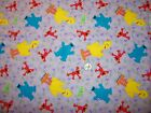 Princesses Spongebob Squarepants Sesame Street Elmo Big Bird Pooh Tigger Fabric