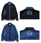 A BATHING APE Mens DENIM WESTERN SHIRT 2 Colors From Japan New