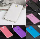 Slim Clear TPU Silicone Gel Soft Skin Case Cover For Samsung Galaxy Note 4