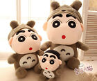 Super cute Crayon Shin-chan change to Totoro plush toy doll birthday gift 1pc