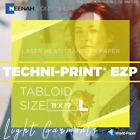 "LASER TRANSFER FOR WHITE FABRIC, ""NEENAH TECHNI-PRINT EZP 9868P0"