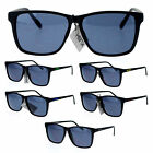 Kush Marijuana Mens Thin Matte Plastic Oversize Rectangular Sunglasses