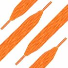 """(2 Pairs)Skater's Fat Shoelaces - Colorful 40-50"""" Laces-1 1/2"""" Wide Strings"""