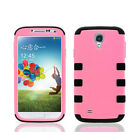 Shockproof Hybrid Armor Rubber Hard Protective Matte Case For Galaxy S4