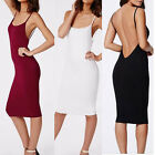 New  Fashion Summer Dress Womens Simple Sexy Blackless Casual Dress