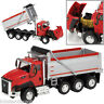 More images of Cat CT660 Dump Truck Red & Silver 1 / 50 scale construction model by Norscot 55504