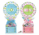 Baby Gift Crate Baby Gift Basket Hospital Gift w  Candy Filled Balloon