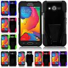 5 PIECE WHOLESALE LOT For Samsung Galaxy Avant SM-G386T T-STAND Cover Case
