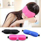 3D Eye Sleeping Mask Soft Sponge Cover Shade Blinder Blindfold Travel Sleep Rest