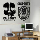 LARGE X BOX XBOX LIVE ONE PS3 PS 4 CALL OF DUTY COD WALL ART CHILDREN STICKER