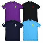 Polo Ralph Lauren Big Pony Polo Shirt Classic Fit Mens Pique Mesh Knit New Nwt