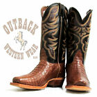 Nocona Cognac Caiman Made in the USA Boot MD8603