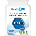 Health4All Acetyl L-Carnitine & Alpha Lipoic Acid Capsules | NEUROPROTECTOR £7.99 GBP on eBay