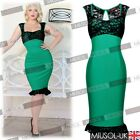 Sexy Women's Summer Beach Cocktail Party Vintage Mermaid Formal Dresses 2015 New