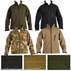 MENS TACTICAL SOFT SHELL SHARK SKIN JACKET + UK PATCH MTP SMOCK BTP GREEN ARMY