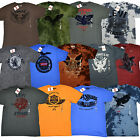Levis Mens Graphic T-Shirts Flocked Crew Neck Tees Levi's Short Sleeve V556p