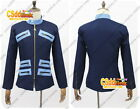 Sailor Moon Seiya Kou Cosplay Costume blue only jacket