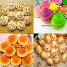 15 Style Soft Cute Squishy Bread Kawaii Keychain Bag Phone Charm Strap Pendant