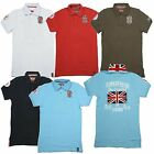 GEOGRAPHICAL NORWAY KAYAK HERREN POLO SHIRT T-SHIRT POLOSHIRT SOMMER