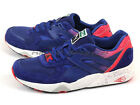 Puma R698 Splatter Mazarine Blue/Teaberry Red Fashion Classic Casual 358628 02