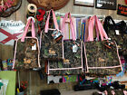 NWT Large Diaper/Tote Bag True Timber Conceal Green Camo Pink or Black Trim