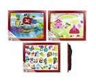 CHILDRENS KIDS WOODEN PADDED CUSHIONED BEAN BAG LAP LAPTOP FOOD TRAY LAPTRAY NEW