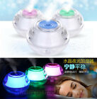 Portable Mini Acrylic Crystal USB LED Nightlight Humidifier Air Mist Diffuser