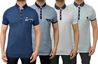 Mens Designer Bewley&Ritch Polo T Shirt Smart Collared Jersey Pique Top 4 Styles