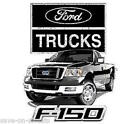 Ford F150 Ford Pickup Trucks NASCAR Asst. Colors Avail JERZEES T-Shirt SM To 5XL