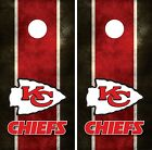 Kansas City Chiefs Cornhole Board Decal Wrap Wraps $54.95 USD on eBay