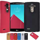 Gel TPU Rubber Soft Silicone Protective Matte Back Case Cover for LG G4 2015