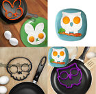 Funny Rabbit Shape Egg Fried Shaper Silicone Mould Cooking Tool Beautiful New