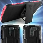 For LG G3 Stylus D690 Heavy Duty Belt Clip Holster Protective Phone Cover Case
